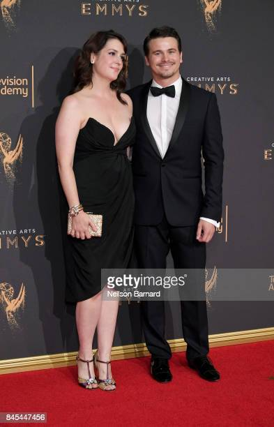 Melanie Lynskey and Jason Ritter attend day 2 of the 2017 Creative Arts Emmy Awards on September 10 2017 in Los Angeles California