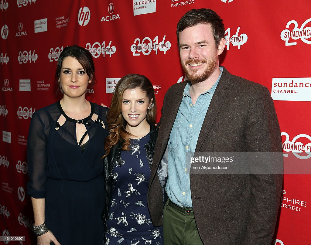 <a gi-track='captionPersonalityLinkClicked' href=/galleries/search?phrase=Melanie+Lynskey&family=editorial&specificpeople=887429 ng-click='$event.stopPropagation()'>Melanie Lynskey</a>, <a gi-track='captionPersonalityLinkClicked' href=/galleries/search?phrase=Anna+Kendrick&family=editorial&specificpeople=3244893 ng-click='$event.stopPropagation()'>Anna Kendrick</a> and Joe Swanberg attend the 'Happy Christmas' premiere at Library Center Theater during the 2014 Sundance Film Festival on January 19, 2014 in Park City, Utah.