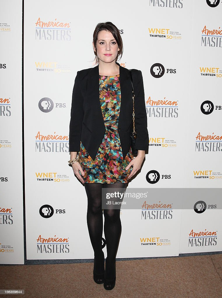 Melanie Lynskey attends the 'Inventing David Geffen' Los Angeles Premiere held at Writer's Guild Theater on November 13, 2012 in Los Angeles, California.