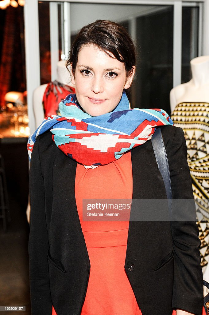 Melanie Lynskey attends Theodora And Callum Cocktail Party on March 13, 2013 in Beverly Hills, California.