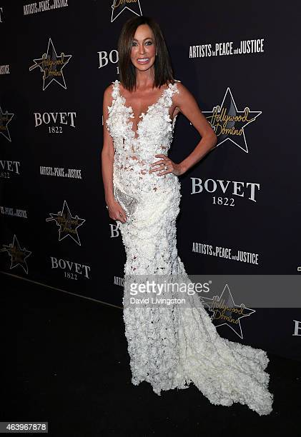 Melanie Mar attends the Hollywood Domino Bovet 1822's 8th Annual PreOscar Hollywood Domino Gala Tournament at Sunset Tower Hotel on February 19 2015...