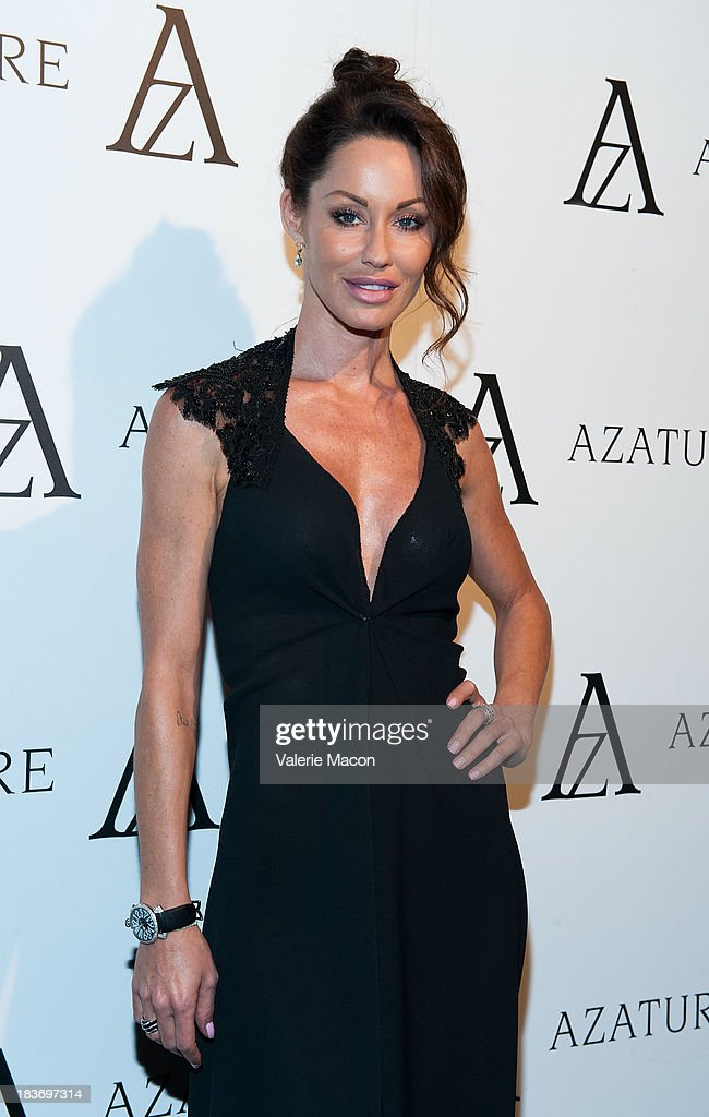 Melanie Marden attends The Black Diamond Affair With A Z A T U R E at Sunset Tower on October 8, 2013 in West Hollywood, California.