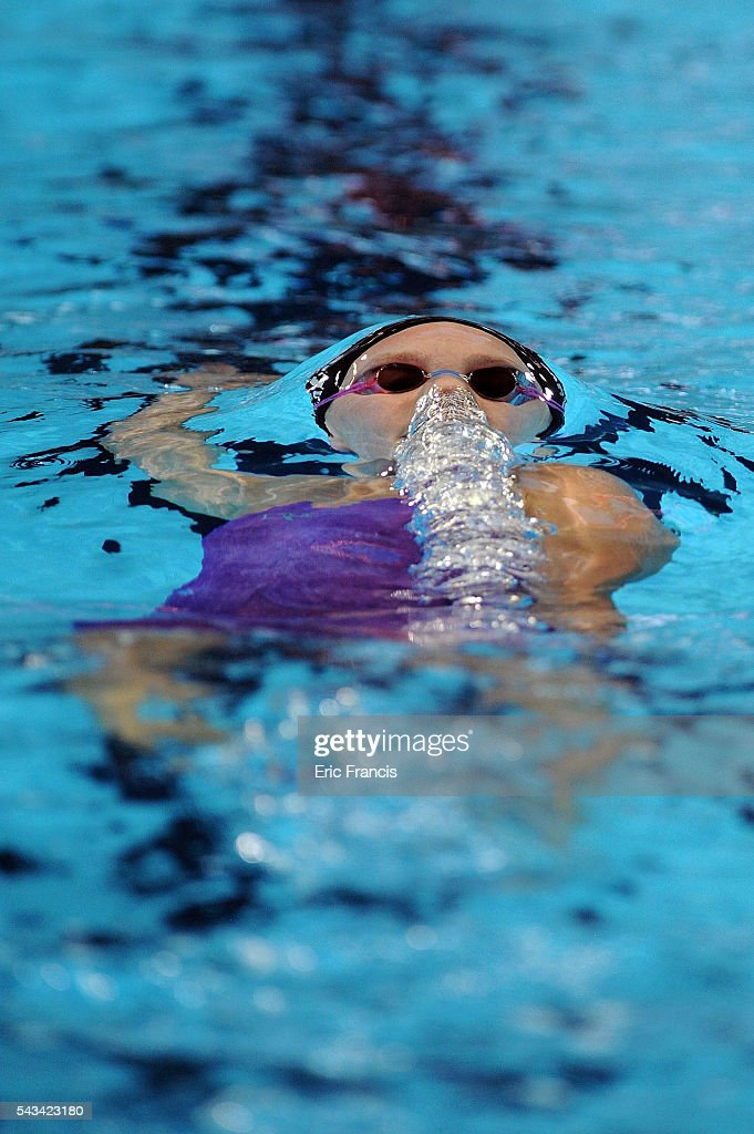 Melanie Margalis of the United States competes in a preliminary heat of the Women's 200 Meter Individual Medley during Day 3 of the 2016 U.S. Olympic Team Swimming Trials at CenturyLink Center on June 28, 2016 in Omaha, Nebraska.