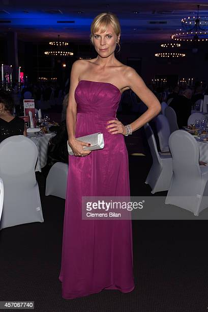 Melanie Marschke attends the TULIP Gala 2014 at Van der Valk Hotel Berlin Brandenburg on October 11 2014 in BlankenfeldeMahlow near Berlin Germany