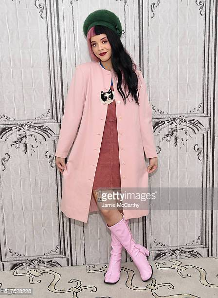 Melanie Martinez attends AOL Build Speaker Series to discuss 'Cry Baby' at AOL Studios In New York on March 25 2016 in New York City