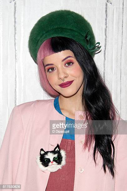 Melanie Martinez attends the AOL Build Speaker Series to discuss 'Cry Baby' at AOL Studios In New York on March 25 2016 in New York City