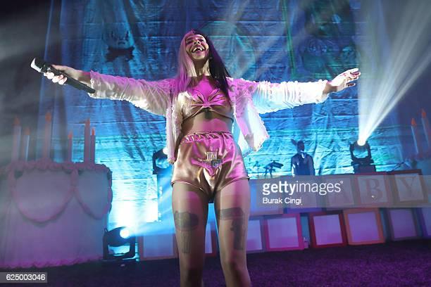 Melanie Martinez performs at Eventim Apollo on November 21 2016 in London England