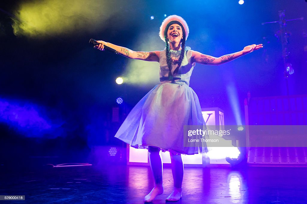 Melanie Martinez performs at The O2 Forum on May 07 2016 in London England