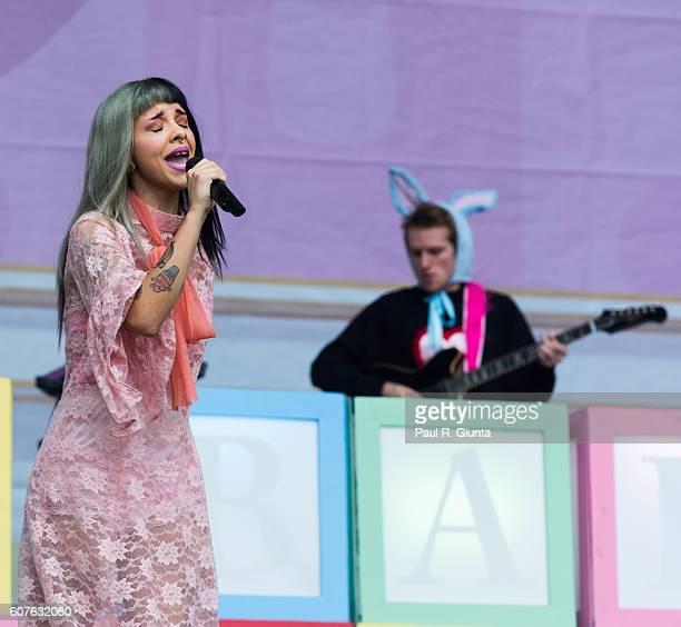 Melanie Martinez performs onstage at Piedmont Park on September 18 2016 in Atlanta Georgia