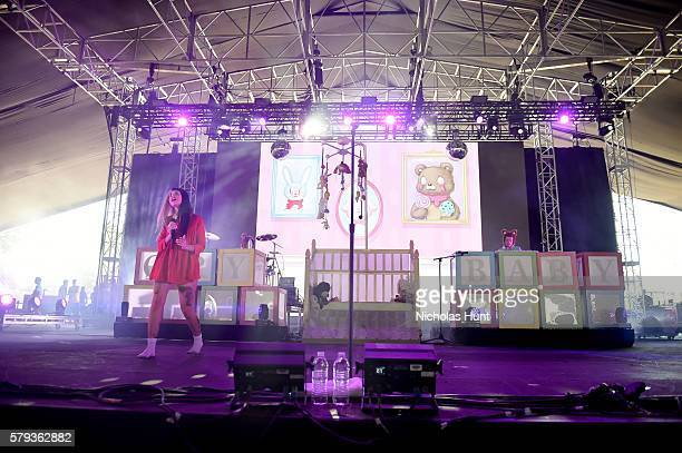 Melanie Martinez performs onstage at the 2016 Panorama NYC Festival Day 2 at Randall's Island on July 23 2016 in New York City