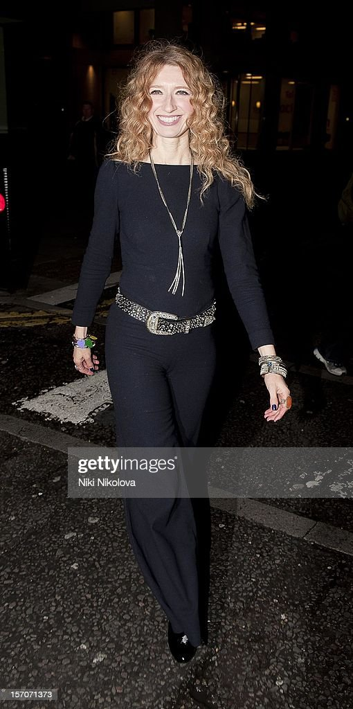 Melanie Masson attends the OK! Magazine Christmas Party on November 27, 2012 in London, England.