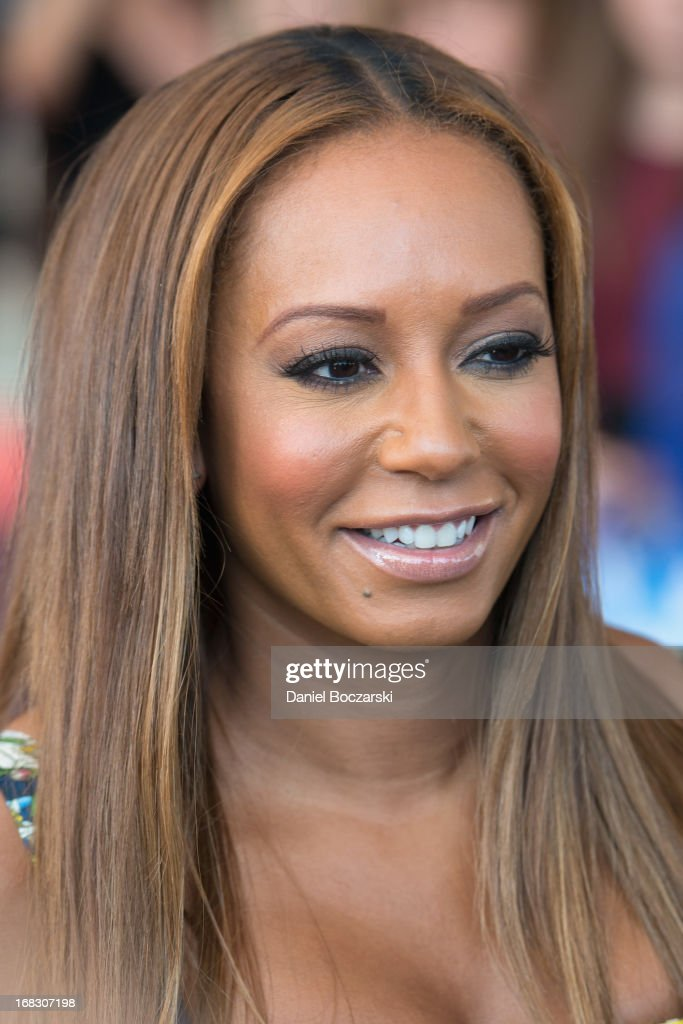 Melanie ?Mel B? Brown attends 'America's Got Talent' Season 8 Meet The Judges Red Carpet Event at Akoo Theatre at Rosemont on May 8, 2013 in Rosemont, Illinois.