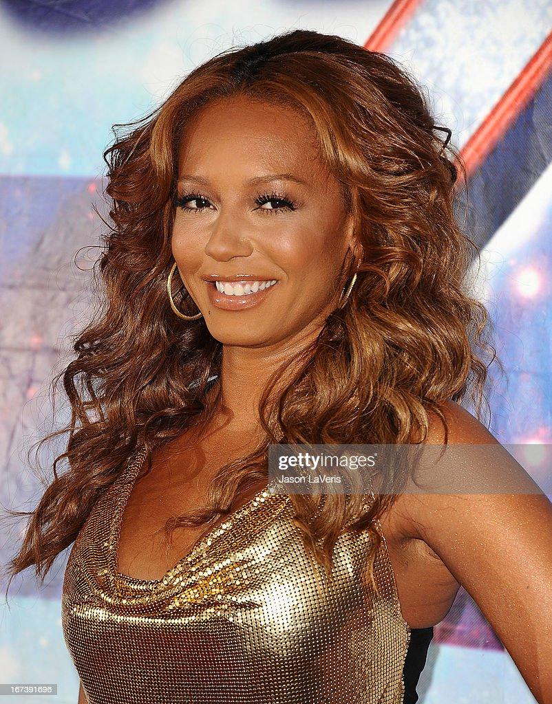 Melanie 'Mel B' Brown attends the 'America's Got Talent' season eight premiere party at the Pantages Theatre on April 24, 2013 in Hollywood, California.