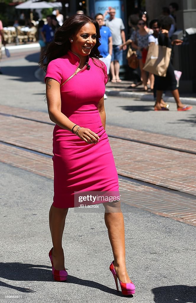 Melanie 'Mel B' Brown is seen at The Grove on May 30, 2013 in Los Angeles, California.