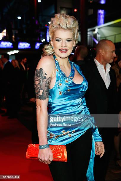 Melanie Mueller attends the 18th Annual German Comedy Awards at Coloneum on October 21 2014 in Cologne Germany The show will be aired on RTL on...