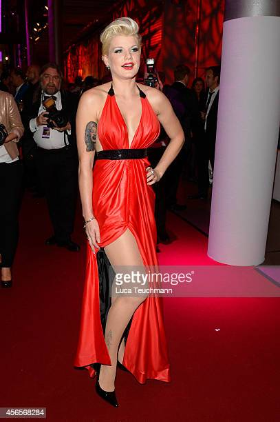 Melanie Mueller attends the Deutscher Fernsehpreis 2014 after show party at Coloneum on October 2 2014 in Cologne Germany