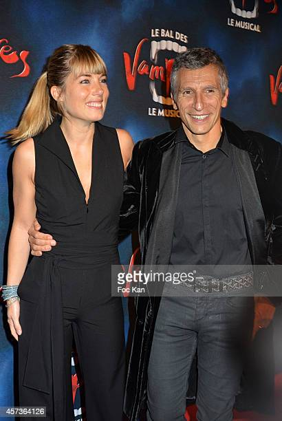 Melanie Page and Nagui attend 'Le Bal Des Vampires' Premiere At Theatre Mogador on October 16 2014 in Paris France