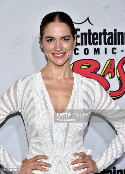 Melanie Scrofano at Entertainment Weekly's annual ComicCon party in celebration of ComicCon 2017 at Float at Hard Rock Hotel San Diego on July 22...