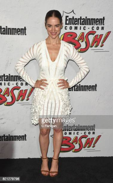 Melanie Scrofano attends Entertainment Weekly's annual ComicCon party in celebration of ComicCon 2017 at Float at Hard Rock Hotel San Diego on July...