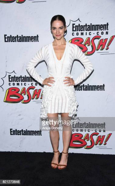Melanie Scrofano attends the Entertainment Weekly's Annual ComicCon Party 2017 at Float at Hard Rock Hotel San Diego on July 22 2017 in San Diego...