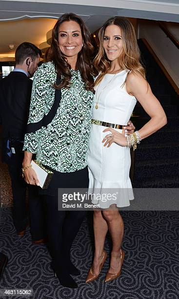 Melanie Sykes and Amanda Byram attend a gastronomic Mexican lunch prepared by 6 of the country's finest chefs to celebrate the Year of Mexico in the...