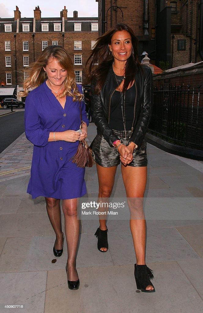 <a gi-track='captionPersonalityLinkClicked' href=/galleries/search?phrase=Melanie+Sykes&family=editorial&specificpeople=226636 ng-click='$event.stopPropagation()'>Melanie Sykes</a> at the Chiltern Firehouse on June 19, 2014 in London, England.