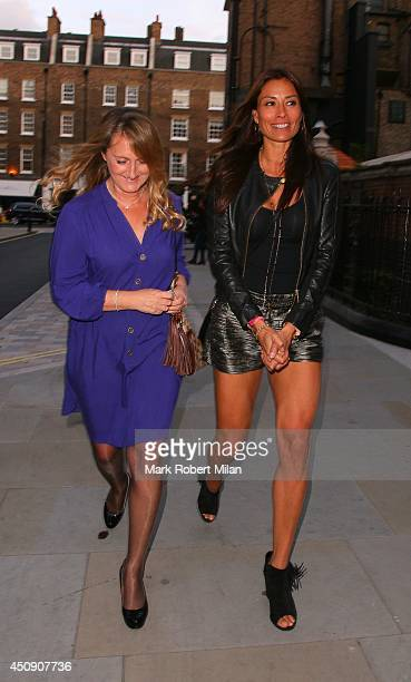 Melanie Sykes at the Chiltern Firehouse on June 19 2014 in London England