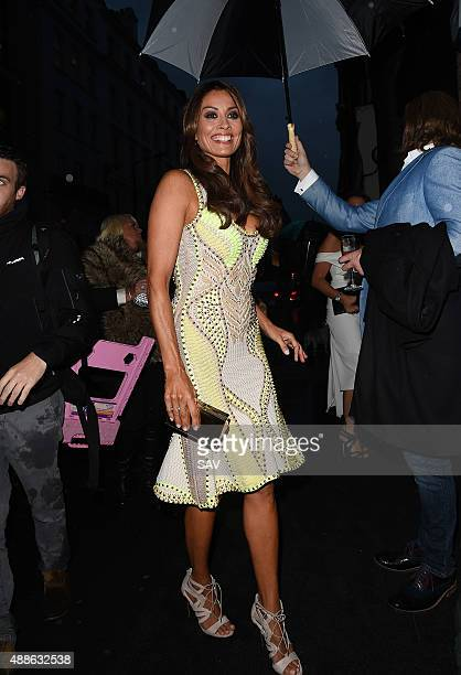 Melanie Sykes attends a book launch on September 16 2015 in London England