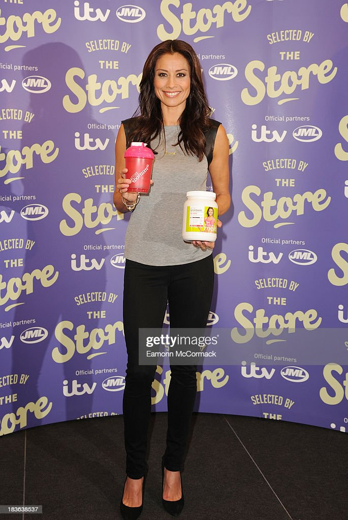 <a gi-track='captionPersonalityLinkClicked' href=/galleries/search?phrase=Melanie+Sykes&family=editorial&specificpeople=226636 ng-click='$event.stopPropagation()'>Melanie Sykes</a> attends a photocall to launch new shopping channel 'The Store' at BAFTA on October 8, 2013 in London, England.