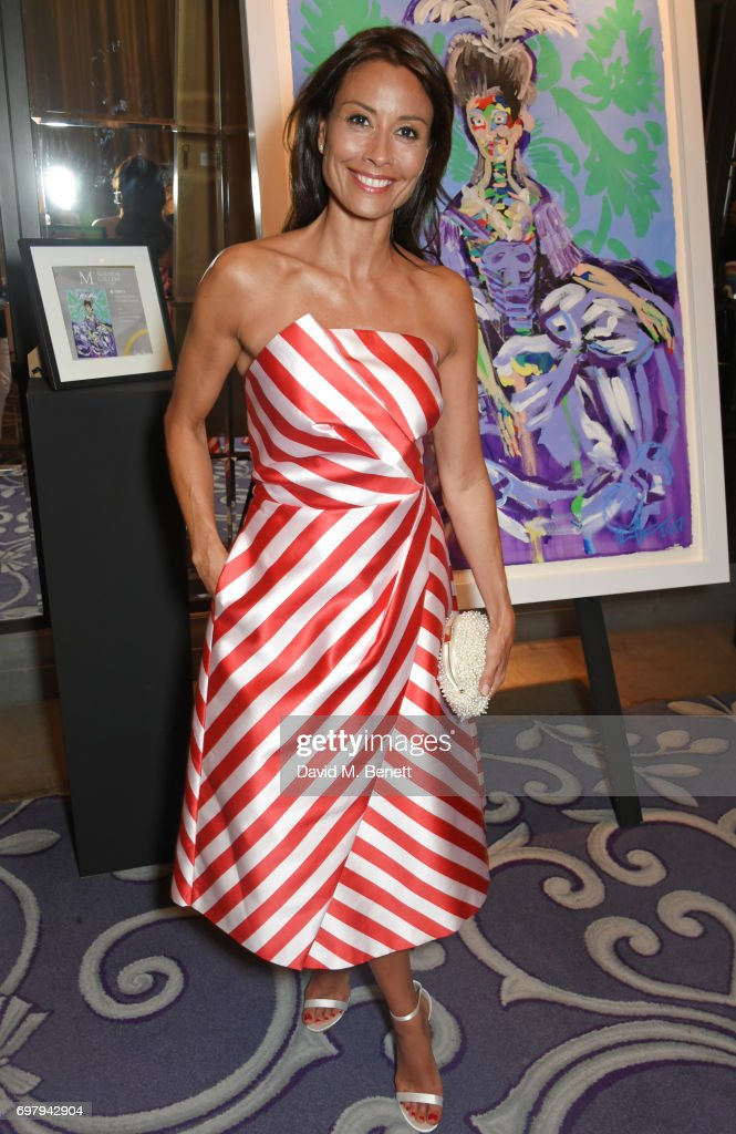 Melanie Sykes attends the inaugural fundraising dinner for The Petra Stunt Foundation in aid of PS Place at the Corinthia Hotel London on June 19, 2017 in London, England.