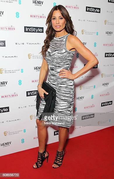 Melanie Sykes attends the InStyle EE Rising Star PreBAFTA Party at 100 Wardour Street on February 4 2016 in London England
