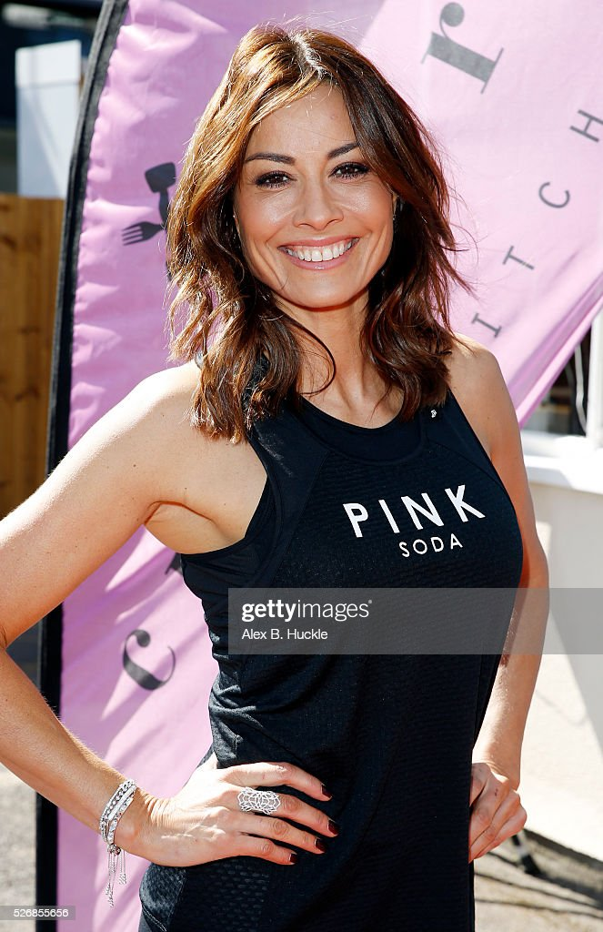 Melanie Sykes attends the launch of the Culture Gym and Kitchen in Wandsworth on May 1, 2016 in London, England.