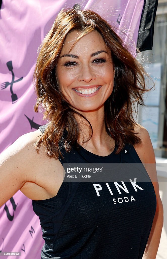 <a gi-track='captionPersonalityLinkClicked' href=/galleries/search?phrase=Melanie+Sykes&family=editorial&specificpeople=226636 ng-click='$event.stopPropagation()'>Melanie Sykes</a> attends the launch of the Culture Gym and Kitchen in Wandsworth on May 1, 2016 in London, England.