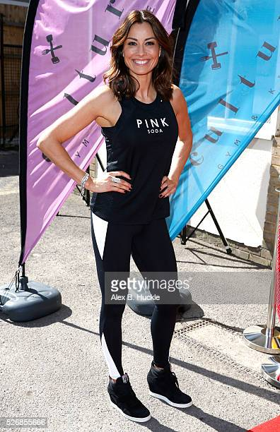 Melanie Sykes attends the launch of the Culture Gym and Kitchen in Wandsworth on May 1 2016 in London England