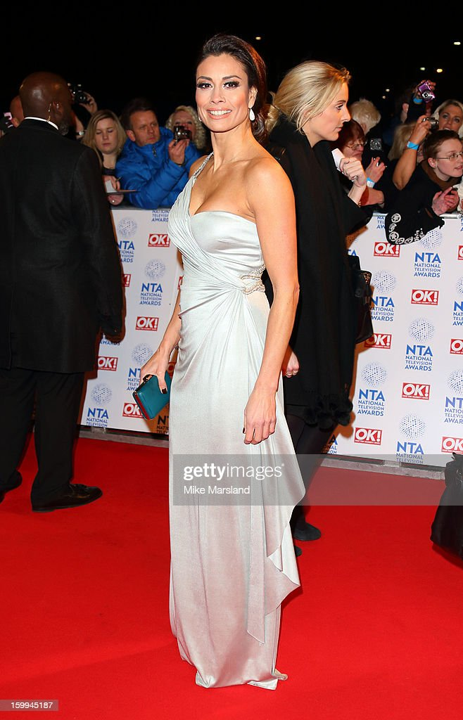 Melanie Sykes attends the National Television Awards at 02 Arena on January 23, 2013 in London, England.