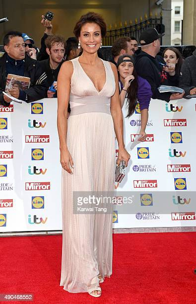 Melanie Sykes attends the Pride of Britain awards at The Grosvenor House Hotel on September 28 2015 in London England