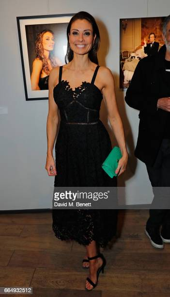 Melanie Sykes attends the Sir Hubert Von Herkomer Arts Foundation 2017 annual exhibition and fundraiser at Alon Fine Arts Gallery on April 5 2017 in...