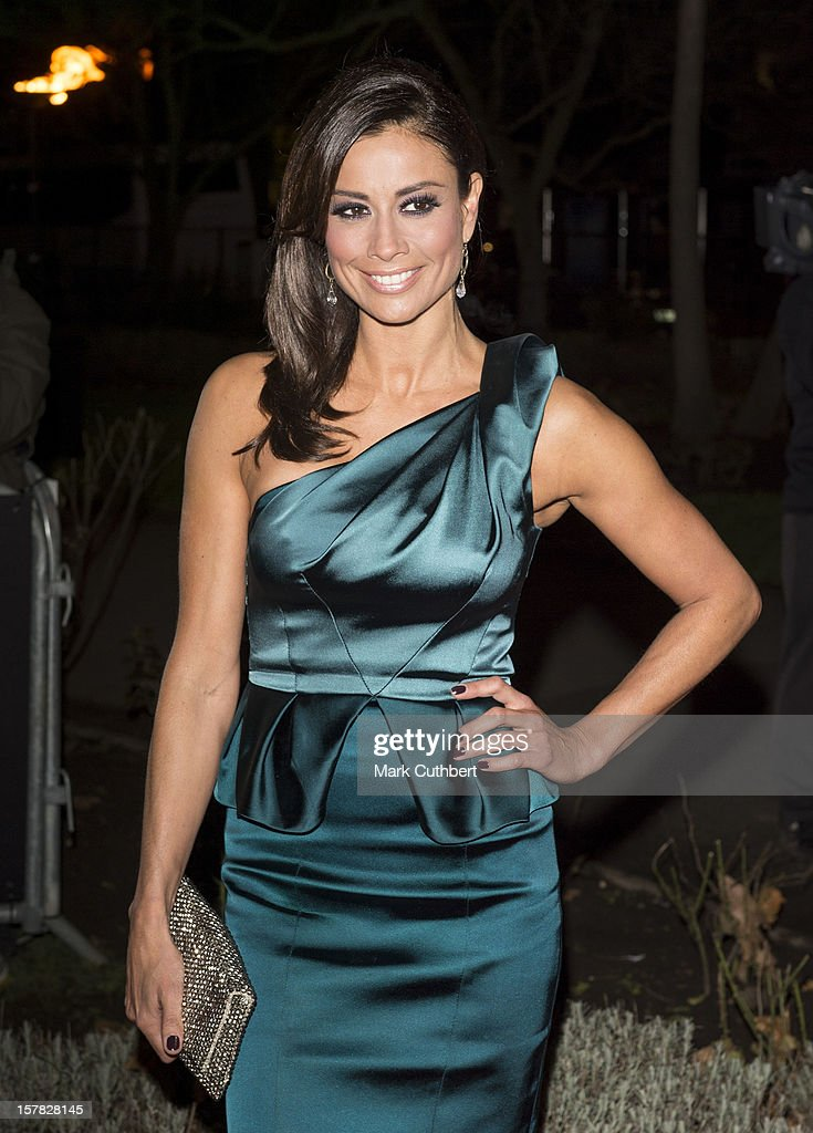 Melanie Sykes attends the Sun Military Awards at Imperial War Museum on December 6, 2012 in London, England.