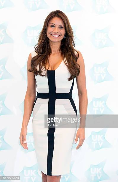 Melanie Sykes attends the UKTV Live launch at Phillips Gallery on September 8 2015 in London England