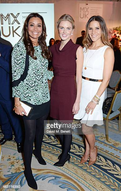 Melanie Sykes Donna Air and Amanda Byram attend a gastronomic Mexican lunch prepared by 6 of the country's finest chefs to celebrate the Year of...