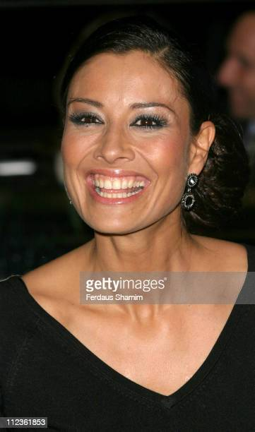 Melanie Sykes during George Michael's 'A Different Story' Gala London Screening Outside Arrivals at Curzon Mayfair in London Great Britain