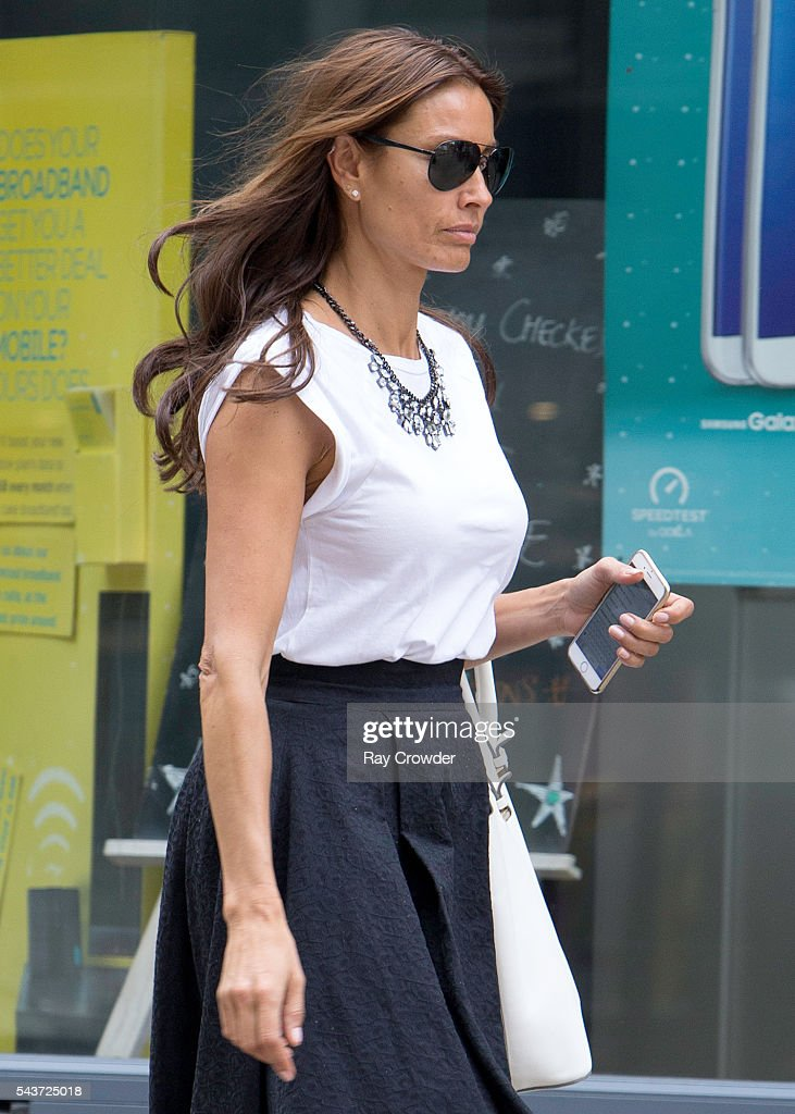 <a gi-track='captionPersonalityLinkClicked' href=/galleries/search?phrase=Melanie+Sykes&family=editorial&specificpeople=226636 ng-click='$event.stopPropagation()'>Melanie Sykes</a> sighting on June 28, 2016 in London, United Kingdom.