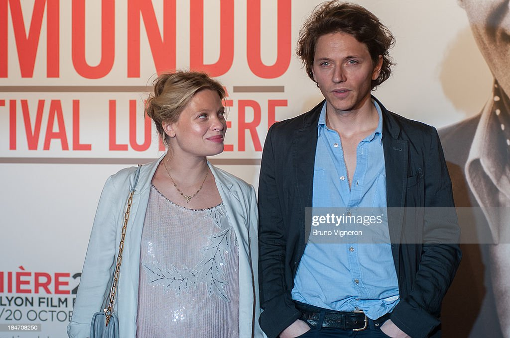 <a gi-track='captionPersonalityLinkClicked' href=/galleries/search?phrase=Melanie+Thierry&family=editorial&specificpeople=591332 ng-click='$event.stopPropagation()'>Melanie Thierry</a> and singer Rafael attend the 5th Lyon Film Festival on October 14, 2013 in Lyon, France.