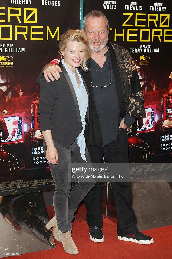 """Zero Theorem' Paris Premiere At UGC Cine Cite Les Halles"