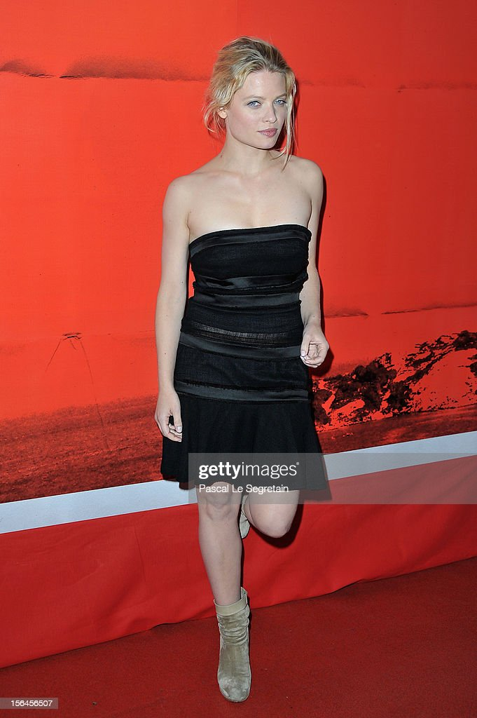 Melanie Thierry attends 'Comme Des Freres' Premiere at Cinema Gaumont Opera on November 15, 2012 in Paris, France.