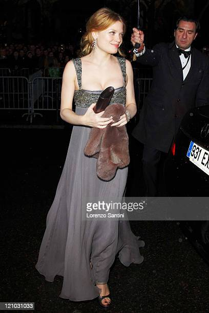Melanie Thierry attends the 35th Cesars Ceremony at Theatre du Chatelet on February 27 2010 in Paris France