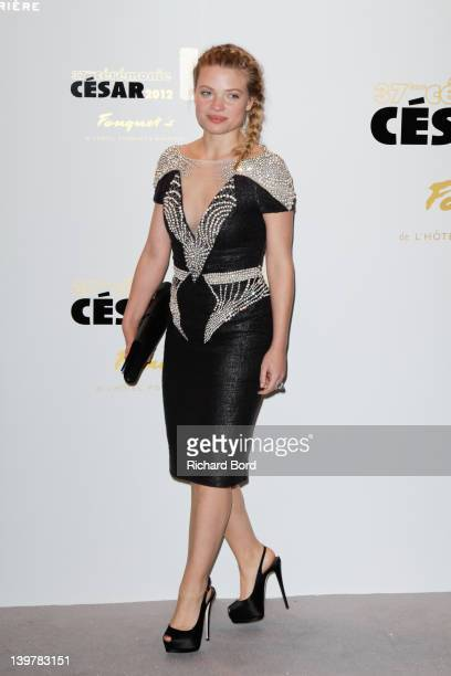 Melanie Thierry attends the 37th Cesar Film Awards at Le Fouquet's on February 24 2012 in Paris France