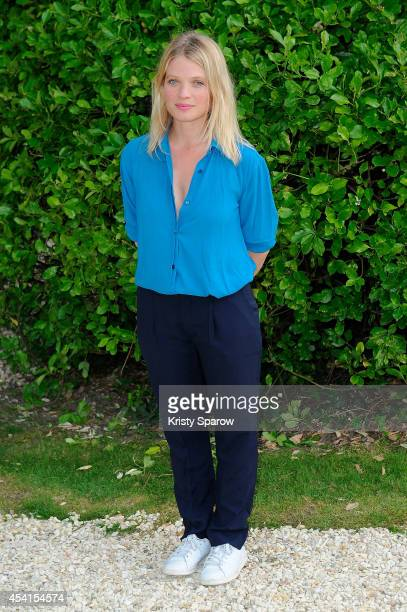 Melanie Thierry attends the 'Le Regne De La Beaute' Photocall at Hotel Mercure during the 7th Angouleme FrenchSpeaking Film Festival on August 25...