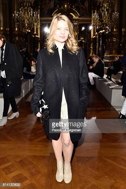 Melanie Thierry attends the Stella McCartney show as part of the Paris Fashion Week Womenswear Fall/Winter 2016/2017 on March 7 2016 in Paris France
