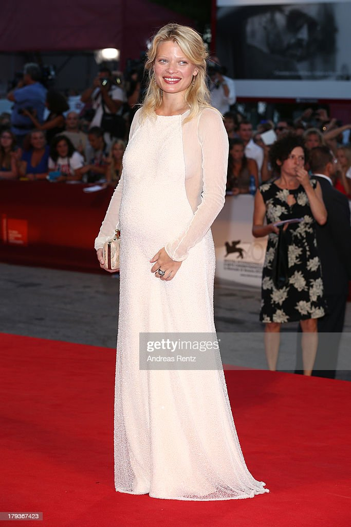 <a gi-track='captionPersonalityLinkClicked' href=/galleries/search?phrase=Melanie+Thierry&family=editorial&specificpeople=591332 ng-click='$event.stopPropagation()'>Melanie Thierry</a> attends 'The Zero Theorem' Premiere during the 70th Venice International Film Festival at the Palazzo del Cinema on September 2, 2013 in Venice, Italy.